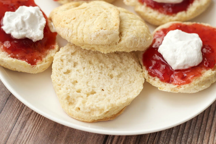 must try vegan scones with jam and whipped cream from loving it vegan ...