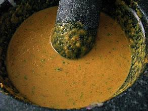 Photo: finished satay marinade