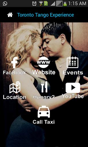 Toronto Tango Experience App