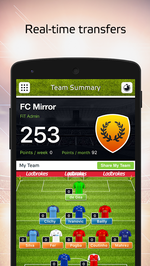 Mirror Fantasy iTeam- screenshot