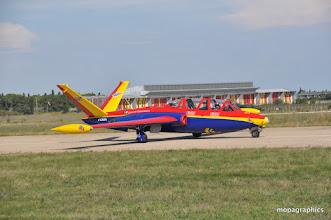 """Photo: rendu légendaire par la PAF, le Fouga CR170 R """"Magister"""" et ses deux réacteurs Marbore au son si ....caractéristique ! En préparation"""