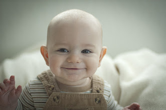 Photo: Portrait of Ethan Bosio - 6 months, Nikon D70 at f/1.4, 1/250, ISO800, AF Nikkor 50mm f/1.4D, Available light, Dec. 19, 2011
