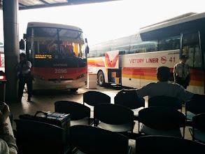 Photo: Victory Liner bus going to Dagupan, Pangasinan