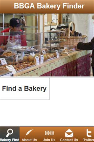 BBGA Bakery Finder- screenshot