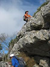 Photo: Last little face to climb