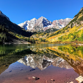 by Michael Smith - Landscapes Mountains & Hills ( mountains, lake, rockies, colorado. )
