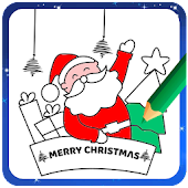Christmas Coloring Game - Learn Colors for kids