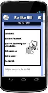 Be like Bill screenshot 5