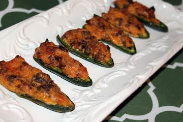 Maple Bacon Stuffed Jalapenos