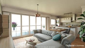 Appartement 3 pièces 80,11 m2