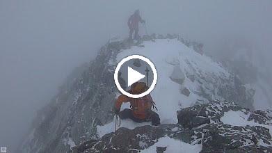 Video: Descending the NW ridge just below Blanca's summit