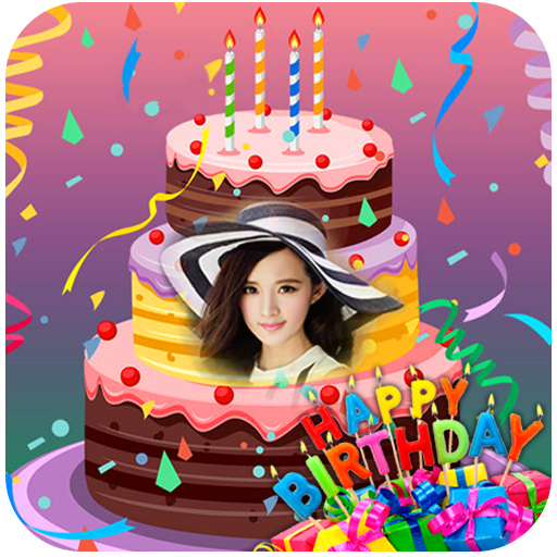 Name On Birthday Cakes Birthday Photo Frames 2018 Apps On Google Play