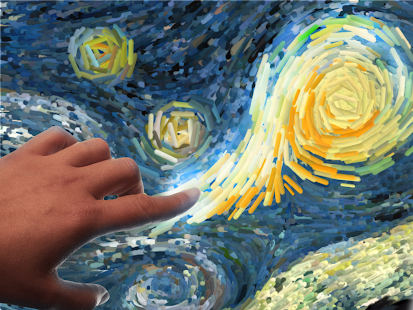 Starry Night interactive- screenshot thumbnail