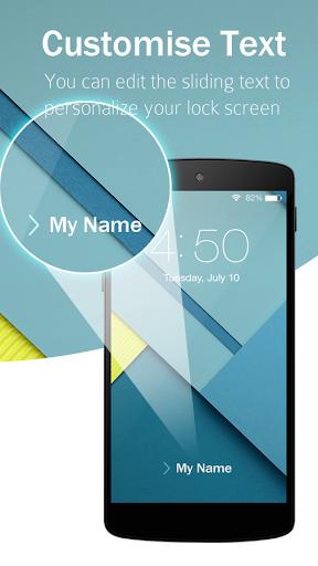 Lock Screen Nexus 6 Theme screenshot 5
