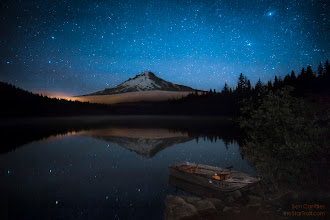 Photo: This is Mt Hood as seen from Trillium Lake in Oregon