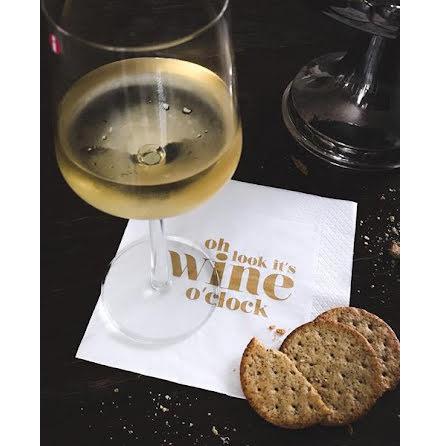 Servetter - Wine o'clock