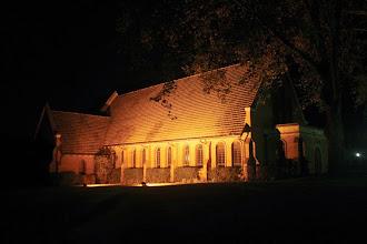 Photo: Kearsney Chapel at night