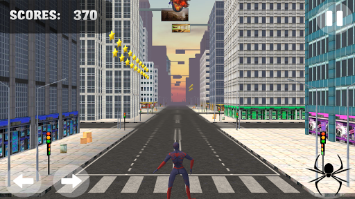 Spider Hero Jump And Fly