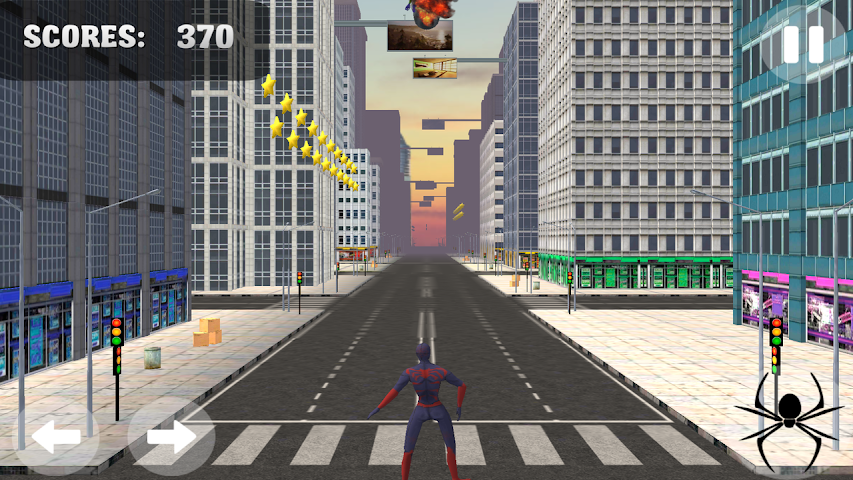 android Spider Hero Jump And Fly Screenshot 0