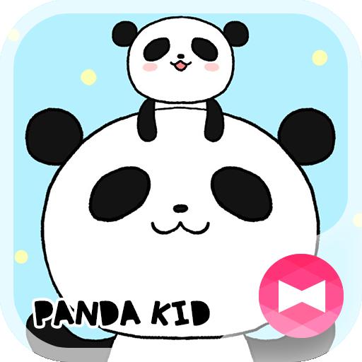 귀여운 테마 Panda Kid 個人化 App LOGO-APP開箱王