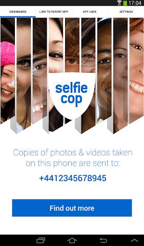 android SelfieCop Child App Screenshot 0