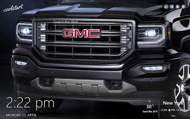 GMC HD Wallpapers Trucks SUVs New Tab Theme