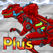 Dino Robot - Tyranno Red Android APK Download Free By TheFlash&FirstFox