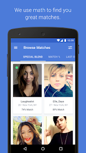 OkCupid Dating screenshot 0