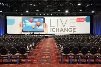 Photo: CSC Global Sales Conference General Session Ballroom.