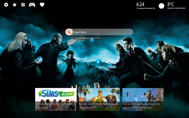 Harry Potter Hd Backgrounds New Tab Chrome Web Store