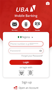 App UBA Mobile Banking APK for Windows Phone