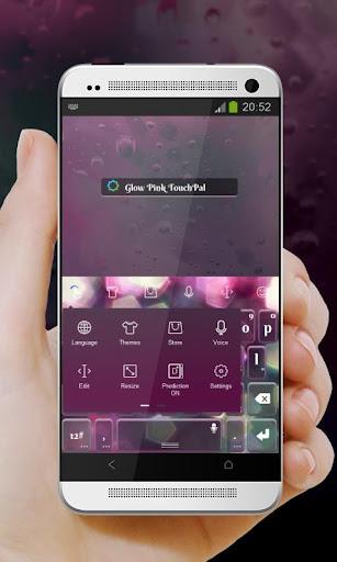 免費下載個人化APP|粉紅色的輝光 TouchPal 主題 app開箱文|APP開箱王