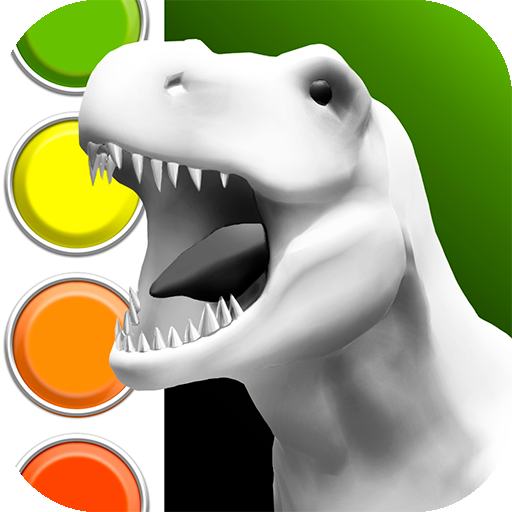 Dinosaurs 3d Coloring Book Google Play De Uygulamalar