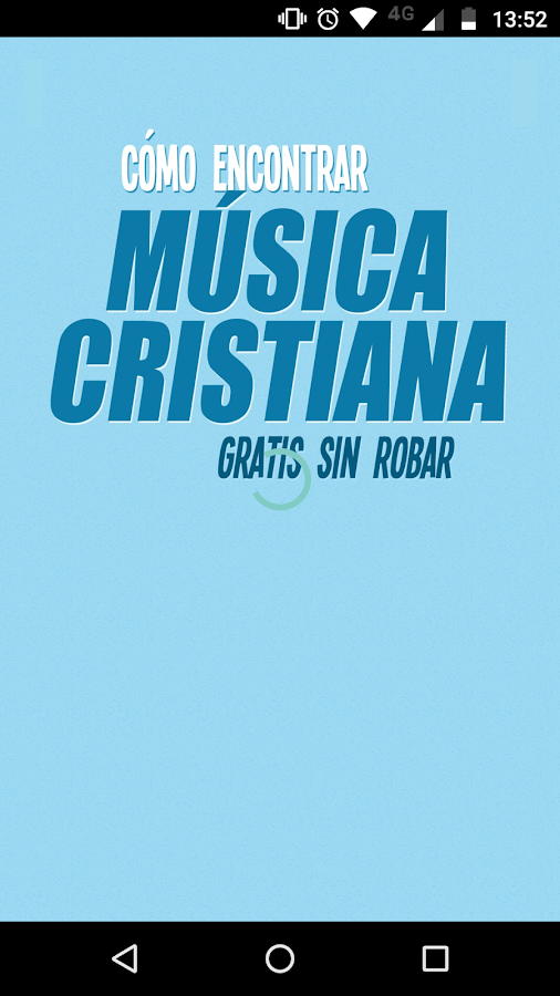 Encontrar Música Cristiana- screenshot