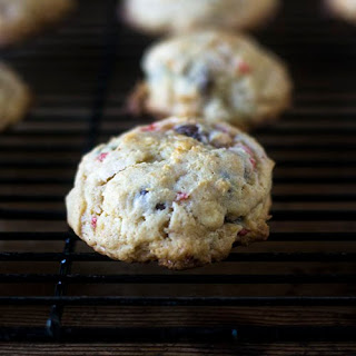 Chocolate Chip Strawberry Cookies.