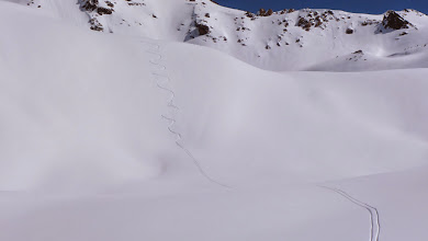 Photo: One of my best ski rides ever. I had to shout at the whole valley at the end. I fell in the middle though.