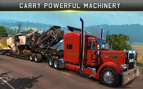 Cargo Truck Driver Simulator Pro 2018 - náhled