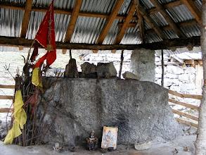 Photo: temple at Druni Lake