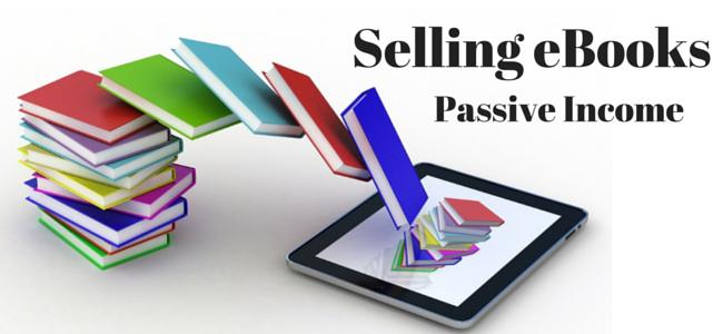 Menjual ebook untuk mendapatkan pendapatan pasif