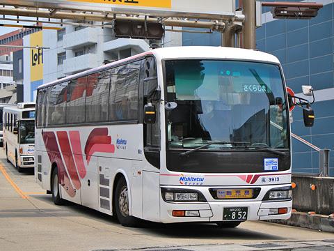 西鉄高速バス「桜島号」 3913 福岡天神にて