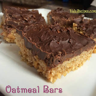 Microwave Oatmeal Bars.