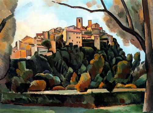 Saint Paul de Vence - Andre Derain