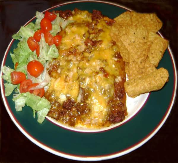Easy Tex Mex Enchiladas Using Flour Tortillas Instead Of Corn.