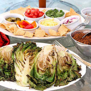 Grilled Romaine Taco Salad Bar