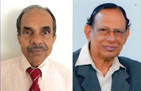 Changaram S. Venugopal and Jacob V. Cheeran photo