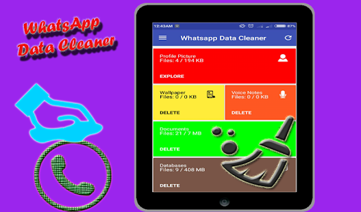 Data Cleaner for Whatsapp - náhled
