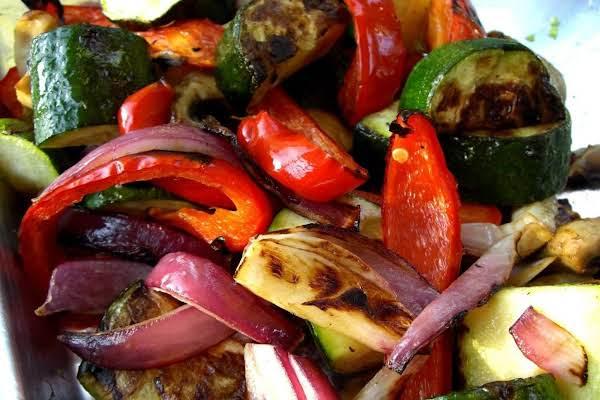 Mediterranean Veggie Kebabs Recipe