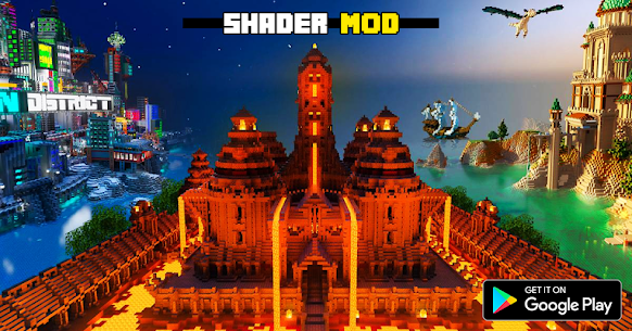 Realistic RTX Shaders Mod for MCPE 2