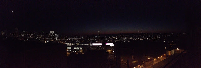 Photo: Seattle with a little bit of dusk left