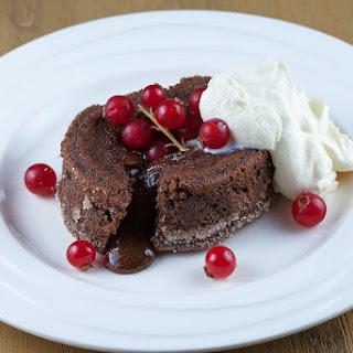 Molten Chocolate Cake Aka Moelleux Au Chocolat.